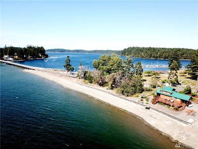 Olympia Single Family Home For Sale: 10229 Steamboat Island Rd NW