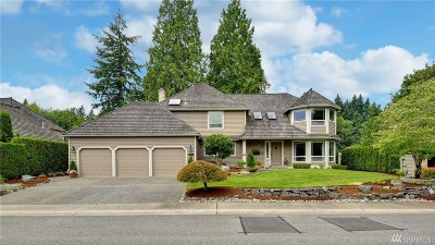 Bothell Single Family Home For Sale: 10938 NE 157 St