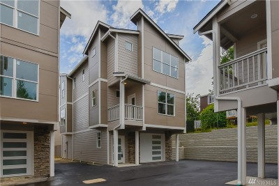 Snohomish Condo/Townhouse For Sale: 1010 Maple Ave