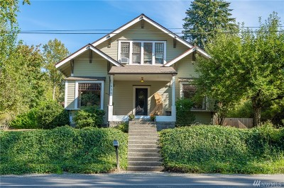 Bellingham Single Family Home Pending Inspection: 1936 Electric Ave