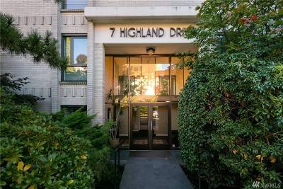 Condo/Townhouse For Sale: 7 Highland Dr #404