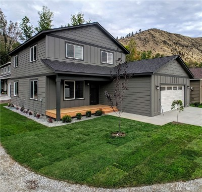 Chelan County Single Family Home For Sale: 408 Riverside Meadow