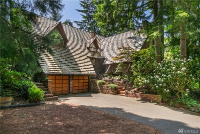 Kirkland Single Family Home For Sale: 6424 NE 130th Place