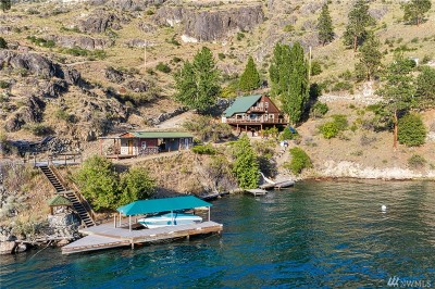 Douglas County, Chelan County Single Family Home For Sale: 224 Waterfront Terrace