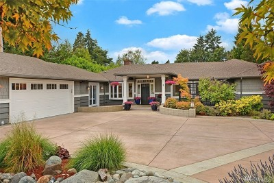Normandy Park Single Family Home For Sale: 17417 4th Ave SW
