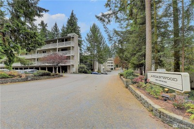 Bellevue Condo/Townhouse For Sale: 14537 NE 40th St #H204