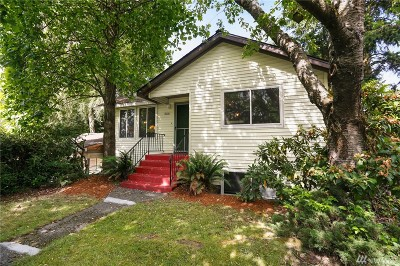 Shoreline Single Family Home For Sale: 15831 6th Ave NE