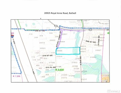 Snohomish County Residential Lots & Land For Sale: 20925 Royal Anne Rd