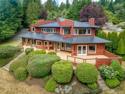 Bainbridge Island Single Family Home For Sale: 4566 Tangleberry Lane NE