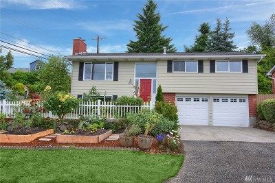 Single Family Home For Sale: 9202 10th Ave SW