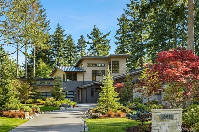 Sammamish Single Family Home For Sale: 18811 NE 49th Place