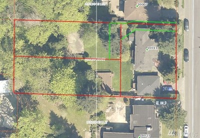 Seattle Residential Lots & Land For Sale: 10011 51st Ave S
