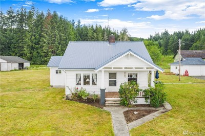 Centralia Single Family Home For Sale: 2240 Lincoln Creek Rd