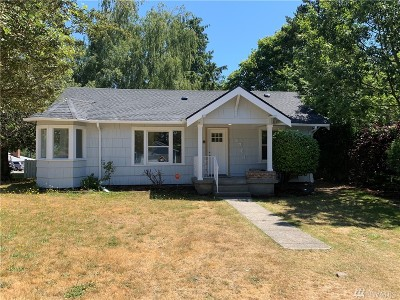 Tacoma Single Family Home For Sale: 1701 S Madison St