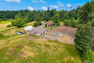 Ferndale Single Family Home For Sale: 3005 Fox Rd