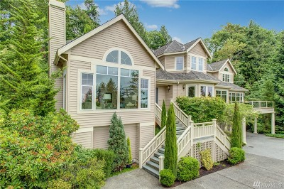 Mercer Island WA Single Family Home For Sale: $2,250,000