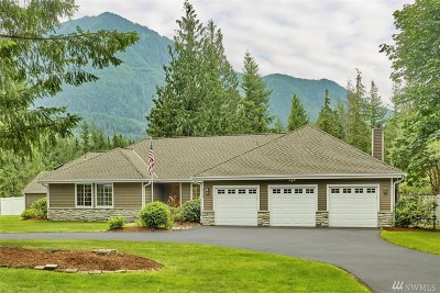 North Bend Single Family Home For Sale: 15229 474th Ave SE