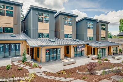 Bothell Condo/Townhouse For Sale: 10323 NE 189th St #C