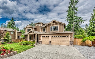 Snohomish Single Family Home For Sale: 12615 219th Place SE