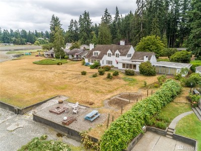 Bremerton Single Family Home For Sale: 3026 Marine Dr