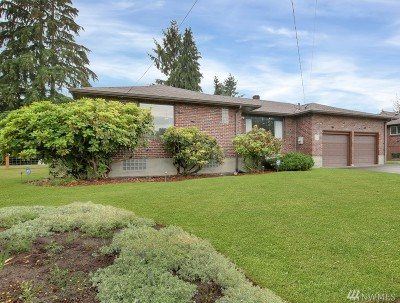 Tacoma WA Single Family Home For Sale: $349,000