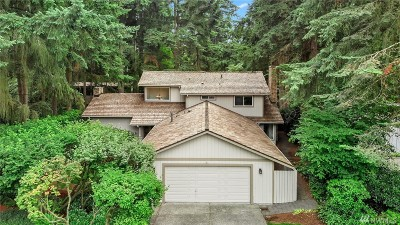Mercer Island WA Single Family Home For Sale: $1,298,000