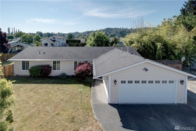 Puyallup Single Family Home For Sale: 815 13th St SE