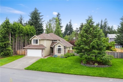 Gig Harbor Single Family Home For Sale: 3816 16th Ave NW
