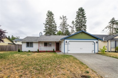 Lacey Single Family Home Pending Inspection: 5906 Cherokee Lp SE