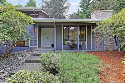Bellevue Single Family Home For Sale: 6528 117th Place SE