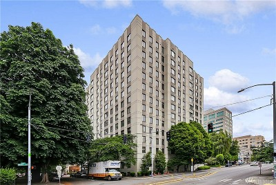 Seattle Condo/Townhouse For Sale: 1105 Spring St #811