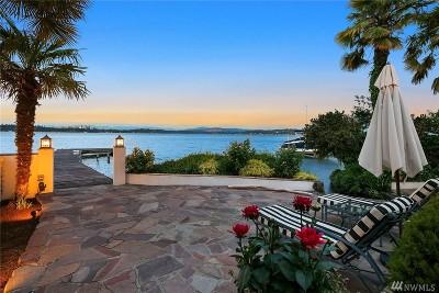 Seattle Single Family Home For Sale: 1606 Lake Washington Blvd
