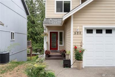 Allyn Single Family Home For Sale: 500 E Wheelwright St N