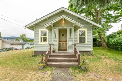 Bellingham Single Family Home For Sale: 1110 E North St