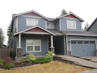 Pierce County Single Family Home For Sale: 9313 198th St Ct E