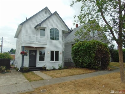 Tacoma Single Family Home For Sale: 811 S Grant Ave
