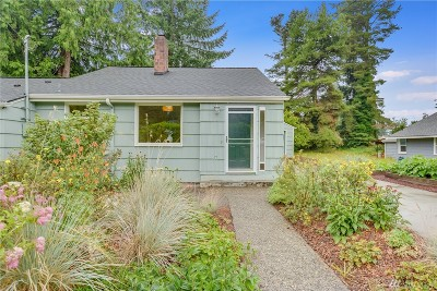 Shoreline Single Family Home For Sale: 18023 10th Ave NE