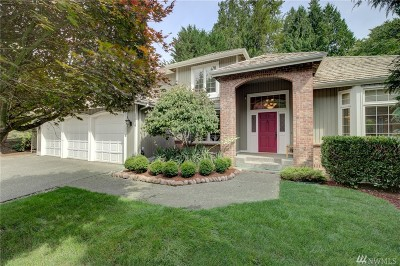 Sammamish Single Family Home For Sale: 22218 NE 19th St