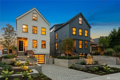 Seattle Single Family Home For Sale: 314 24th Ave E