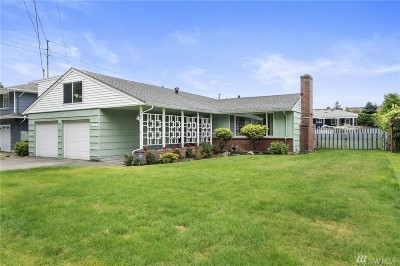 Tacoma Single Family Home For Sale: 7838 S Alaska St