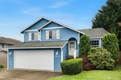 Snohomish Single Family Home For Sale: 902 19th St