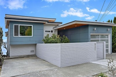 Seattle Single Family Home For Sale: 5305 Beach Dr SW