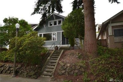 Tacoma Single Family Home For Sale: 1923 N Fife St
