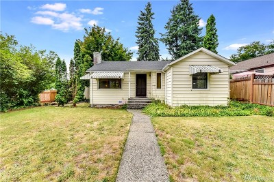 Seattle Single Family Home For Sale: 11305 35th Ave NE