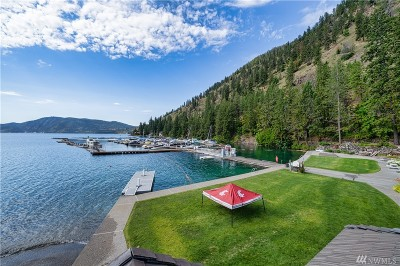 Douglas County, Chelan County Single Family Home For Sale: 11155 S Lakeshore Rd #5A