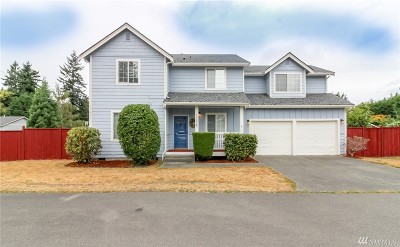 Steilacoom Single Family Home For Sale: 10625 93rd St SW