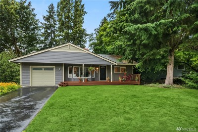 Redmond Single Family Home For Sale: 9513 164th Ave NE