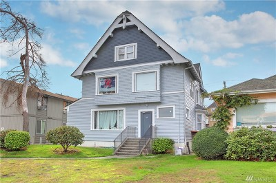 Tacoma Multi Family Home For Sale: 608 N J St #1-5