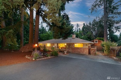 Redmond Single Family Home For Sale: 7800 134th Ave NE