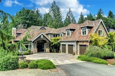 Sammamish Single Family Home For Sale: 24600 NE 27th Place